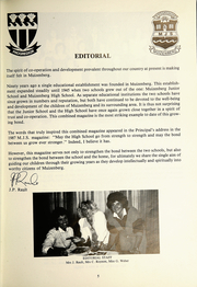 Page 7, 1988 Edition, Muizenberg Junior School - Seagull Yearbook (Cape Town, South Africa) online yearbook collection