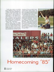 Page 12, 1986 Edition, San Benito High School - El Chapitel Yearbook (Hollister, CA) online yearbook collection
