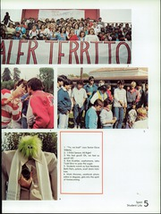 Page 9, 1986 Edition, San Benito High School - El Chapitel Yearbook (Hollister, CA) online yearbook collection
