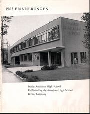 Page 5, 1963 Edition, Berlin American High School - Erinnerungen Yearbook (Berlin, Germany) online yearbook collection