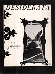 Page 3, 1974 Edition, Wurzberg High School - Desiderata Yearbook (Wurzberg, Germany) online yearbook collection
