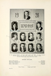 Page 16, 1928 Edition, Watsonville High School - Manzanita Yearbook (Watsonville, CA) online yearbook collection