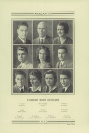 Page 17, 1932 Edition, Watsonville High School - Manzanita Yearbook (Watsonville, CA) online yearbook collection