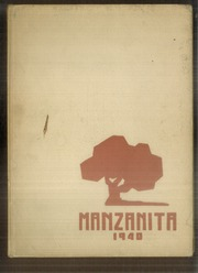 Page 1, 1940 Edition, Watsonville High School - Manzanita Yearbook (Watsonville, CA) online yearbook collection
