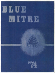 1974 Edition, Bishop Baumgartner Junior High School - Blue Mitre Yearbook (Sinajana, Guam)