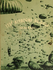 1964 Edition, 173d Airborne Brigade Separate - Yearbook (Okinawa, Japan)