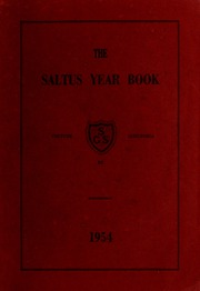 Saltus Grammar School - Yearbook (Hamilton, Bermuda) online yearbook collection, 1954 Edition, Page 1