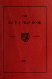 Saltus Grammar School - Yearbook (Hamilton, Bermuda) online yearbook collection, 1959 Edition, Page 1