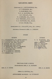 Page 13, 1968 Edition, Saltus Grammar School - Yearbook (Hamilton, Bermuda) online yearbook collection