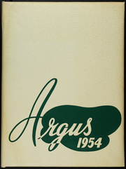 Page 1, 1954 Edition, James Lick High School - Argus Yearbook (San Jose, CA) online yearbook collection