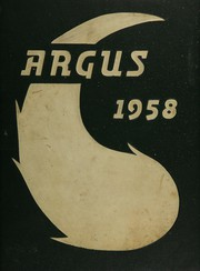 Page 1, 1958 Edition, James Lick High School - Argus Yearbook (San Jose, CA) online yearbook collection