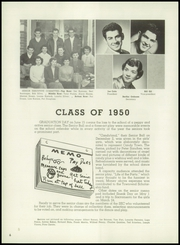 Page 10, 1950 Edition, Santa Clara High School - Tocsin Yearbook (Santa Clara, CA) online yearbook collection