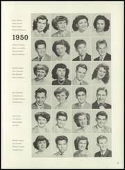 Page 11, 1950 Edition, Santa Clara High School - Tocsin Yearbook (Santa Clara, CA) online yearbook collection