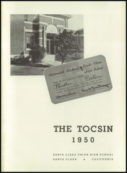 Page 5, 1950 Edition, Santa Clara High School - Tocsin Yearbook (Santa Clara, CA) online yearbook collection