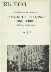Page 7, 1953 Edition, Nathaniel Narbonne High School - El Eco Yearbook (Harbor City, CA) online yearbook collection