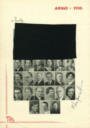 Page 14, 1936 Edition, Tulare Union High School - Argus Yearbook (Tulare, CA) online yearbook collection
