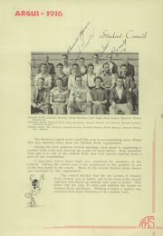 Page 17, 1936 Edition, Tulare Union High School - Argus Yearbook (Tulare, CA) online yearbook collection