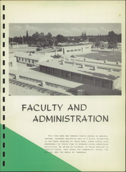 Page 13, 1958 Edition, Tulare Union High School - Argus Yearbook (Tulare, CA) online yearbook collection