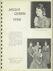 Page 7, 1958 Edition, Tulare Union High School - Argus Yearbook (Tulare, CA) online yearbook collection