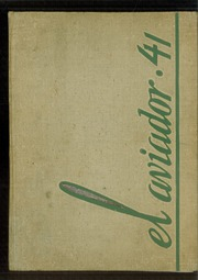 1941 Edition, Excelsior High School - El Aviador Yearbook (Norwalk, CA)