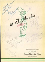 Page 7, 1941 Edition, Excelsior High School - El Aviador Yearbook (Norwalk, CA) online yearbook collection
