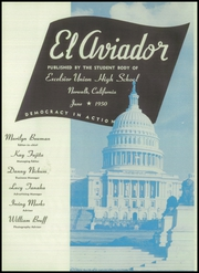 Page 6, 1950 Edition, Excelsior High School - El Aviador Yearbook (Norwalk, CA) online yearbook collection
