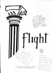 Page 7, 1963 Edition, Westchester High School - Flight Yearbook (Los Angeles, CA) online yearbook collection