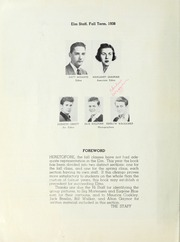 Page 10, 1939 Edition, San Mateo High School - Elm Yearbook (San Mateo, CA) online yearbook collection