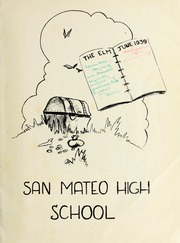 Page 5, 1939 Edition, San Mateo High School - Elm Yearbook (San Mateo, CA) online yearbook collection