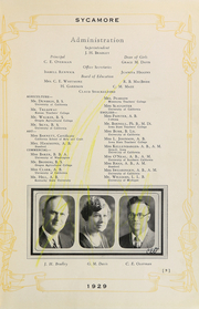 Page 17, 1929 Edition, Modesto High School - Sycamore Yearbook (Modesto, CA) online yearbook collection