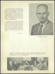 Page 10, 1957 Edition, Modesto High School - Sycamore Yearbook (Modesto, CA) online yearbook collection