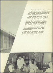 Page 15, 1957 Edition, Modesto High School - Sycamore Yearbook (Modesto, CA) online yearbook collection