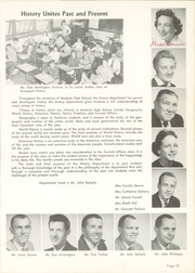Page 17, 1959 Edition, Modesto High School - Sycamore Yearbook (Modesto, CA) online yearbook collection