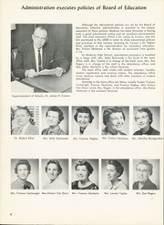 Page 12, 1960 Edition, Modesto High School - Sycamore Yearbook (Modesto, CA) online yearbook collection