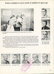 Page 17, 1960 Edition, Modesto High School - Sycamore Yearbook (Modesto, CA) online yearbook collection