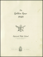 Page 3, 1948 Edition, Lynwood High School - Accolade Yearbook (Lynwood, CA) online yearbook collection