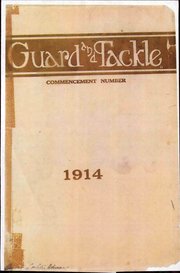 Stockton High School - Guard and Tackle Yearbook (Stockton, CA) online yearbook collection, 1914 Edition, Page 1