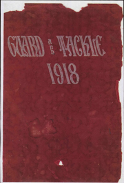 Stockton High School - Guard and Tackle Yearbook (Stockton, CA) online yearbook collection, 1918 Edition, Page 1