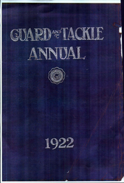 Page 1, 1922 Edition, Stockton High School - Guard and Tackle Yearbook (Stockton, CA) online yearbook collection