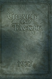 Page 1, 1927 Edition, Stockton High School - Guard and Tackle Yearbook (Stockton, CA) online yearbook collection