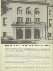 Page 10, 1951 Edition, Stockton High School - Guard and Tackle Yearbook (Stockton, CA) online yearbook collection