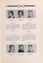 Page 33, 1931 Edition, Hollywood High School - Poinsettia Yearbook (Hollywood, CA) online yearbook collection