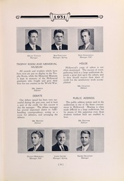 Page 35, 1931 Edition, Hollywood High School - Poinsettia Yearbook (Hollywood, CA) online yearbook collection