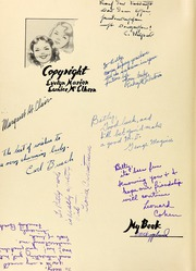 Page 10, 1938 Edition, Hollywood High School - Poinsettia Yearbook (Hollywood, CA) online yearbook collection