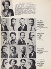 Page 12, 1954 Edition, Hollywood High School - Poinsettia Yearbook (Hollywood, CA) online yearbook collection