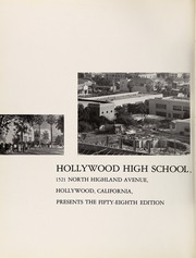 Page 6, 1966 Edition, Hollywood High School - Poinsettia Yearbook (Hollywood, CA) online yearbook collection