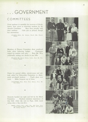 Page 13, 1940 Edition, Petaluma High School - Trojans Yearbook (Petaluma, CA) online yearbook collection