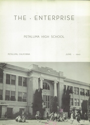 Page 7, 1940 Edition, Petaluma High School - Trojans Yearbook (Petaluma, CA) online yearbook collection