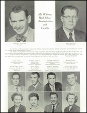 Page 13, 1959 Edition, Mount Whitney High School - Oak Yearbook (Visalia, CA) online yearbook collection