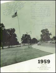 Page 7, 1959 Edition, Mount Whitney High School - Oak Yearbook (Visalia, CA) online yearbook collection